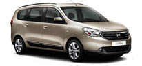 Dacia Lodgy Laureate Diesel Manuel (7 Person)